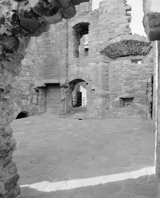View of withdrawing room, Crichton Castle.