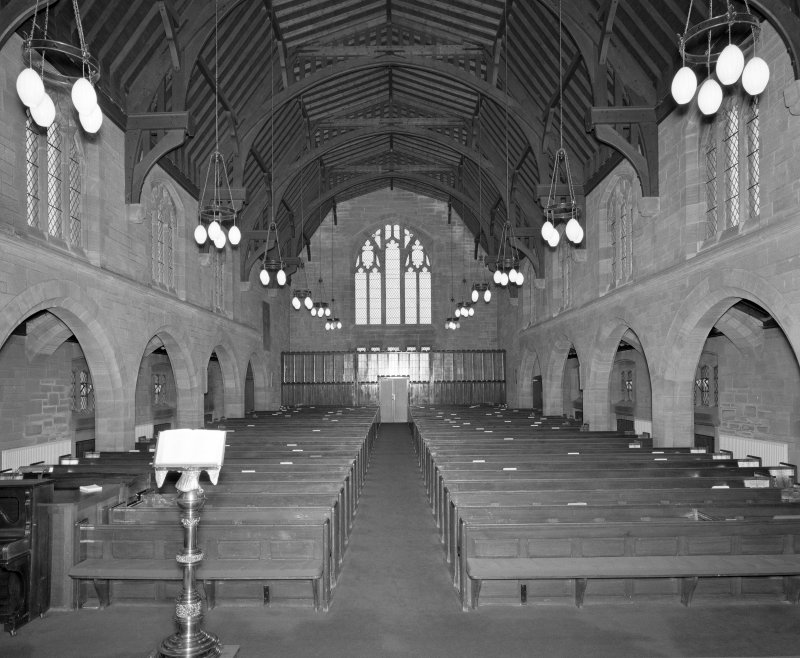 View of nave from W