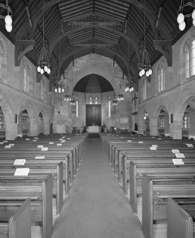 View of nave from E