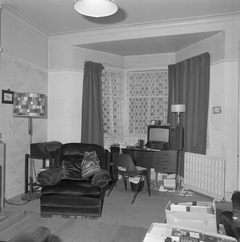 Beadle's house, sitting room, view from SE