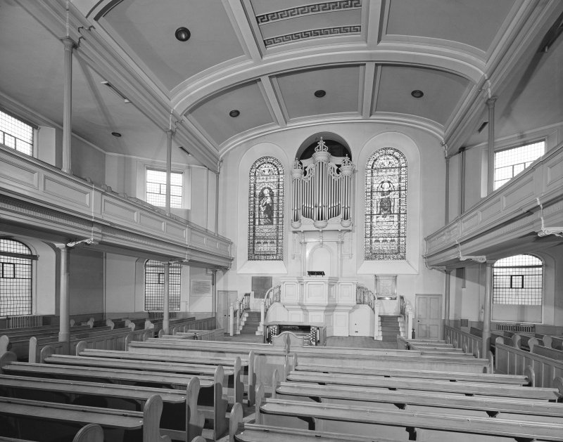 Interior view of Lothian Road Church, from East