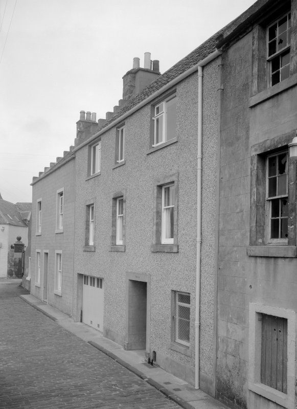 View of 4-6 Castle Street, Anstruther Easter, from E.