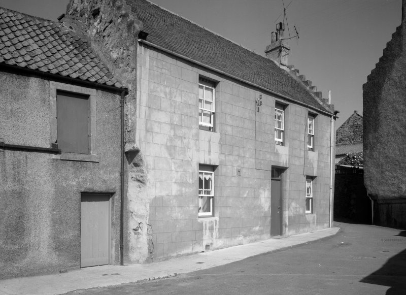 View of street elevation of Wynd House, Anstruther Easter.