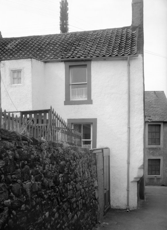 View of Guthrie's House, 11 Cards Wynd, Anstruther Easter.