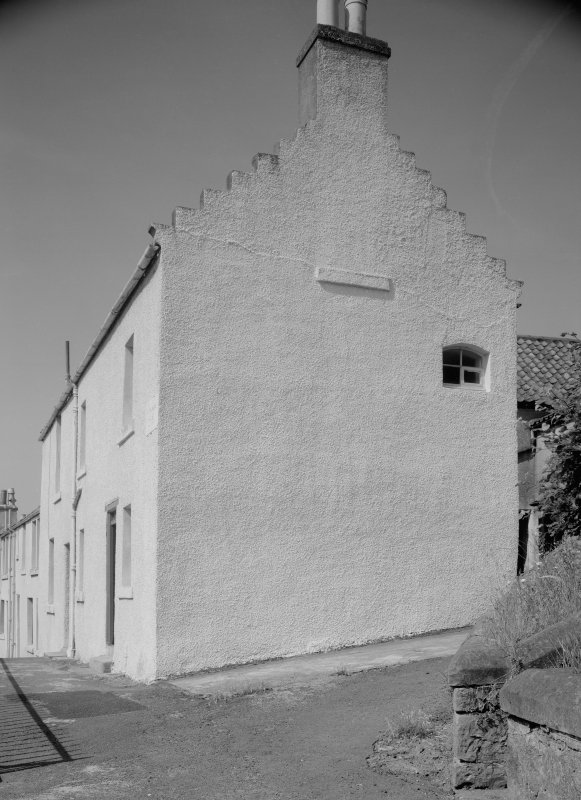 View of gable end of Chalmers' House, Anstruther Easter.