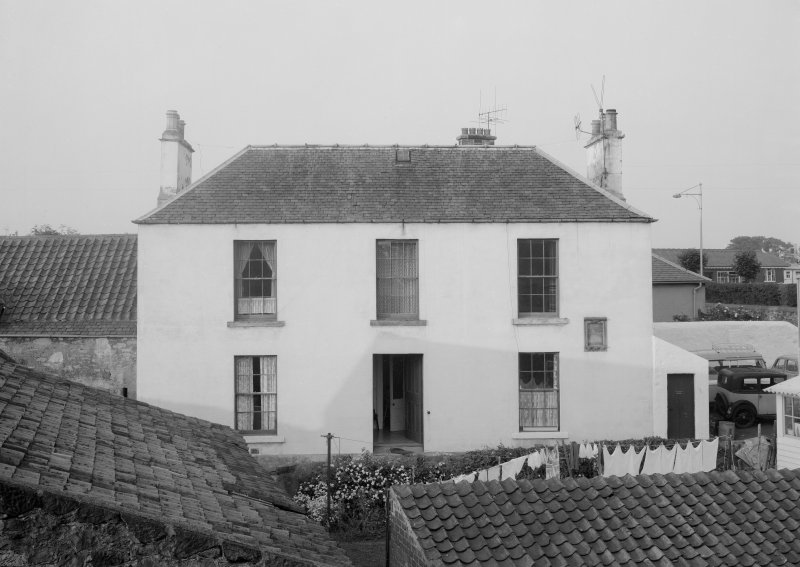 General view of Cunzie House, Anstruther Easter.
