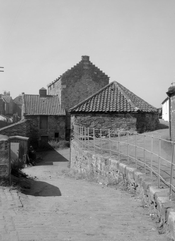 View of approach to Old Corn Mill, Anstruther Easter.