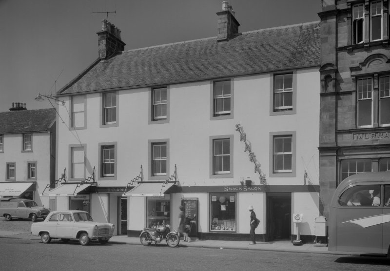 View of 5 and 6 Shore Street, Anstruther Easter, from S.