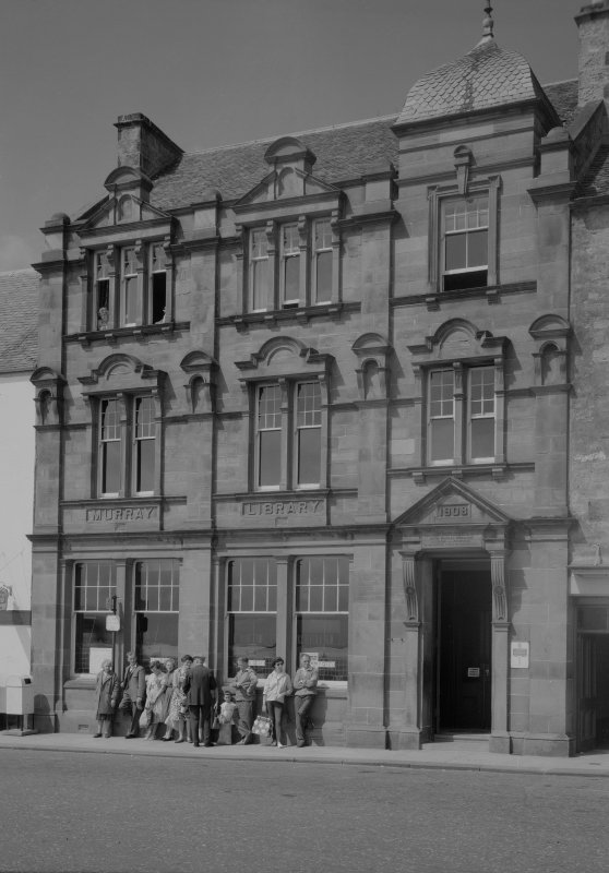View of Murray Library, Shore Street, Anstruther Easter, from SE.