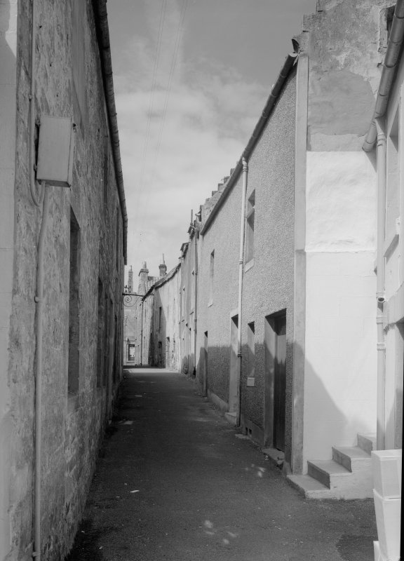 View down Tolbooth Wynd, Anstruther Easter.