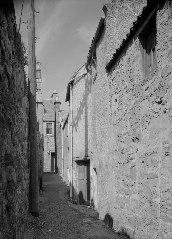 View of Wightman's Wynd, Anstruther Easter.