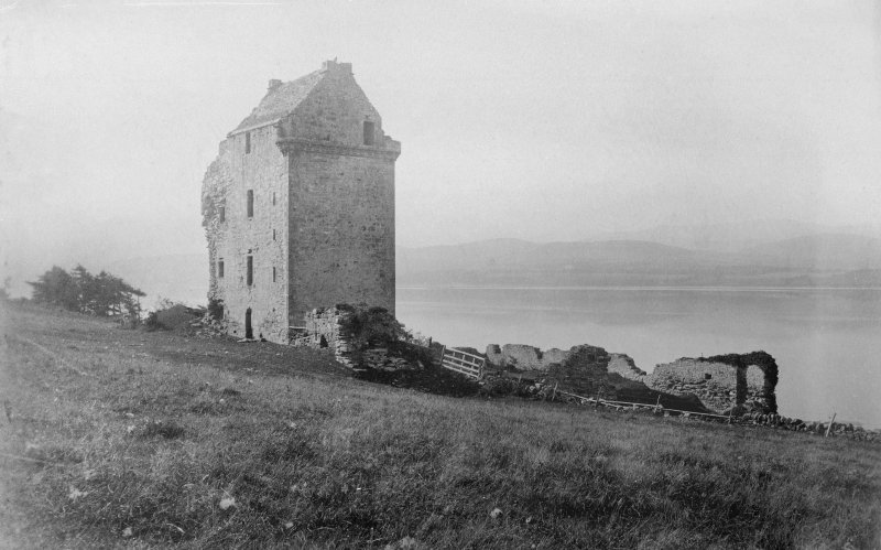 "General view Photograph taken by Capt. Hector Munro of Foulis.  Copied from a grangerised copy of ""The History of the Geneologies of the MacKenzies"" by Alexander Mackenzie 1879, in possession of Dr Jean Munro"