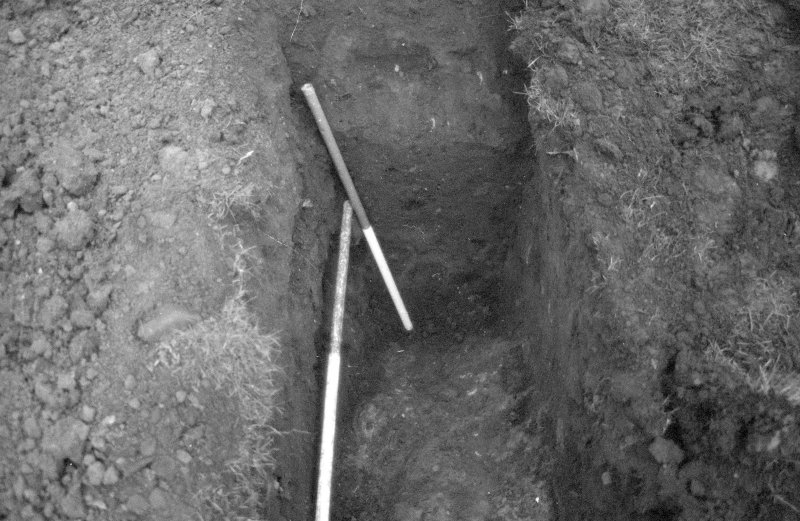 Excavation photograph; trench