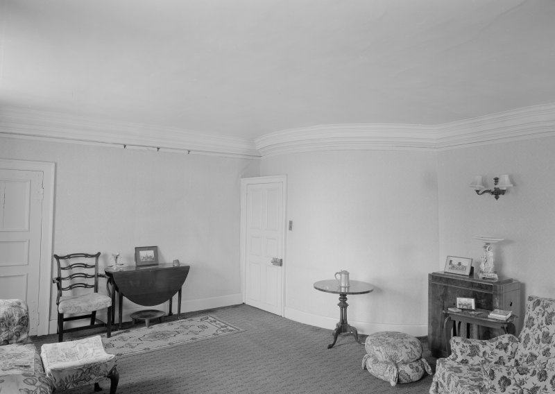 Interior view of Wedderlie House showing first floor drawing room.