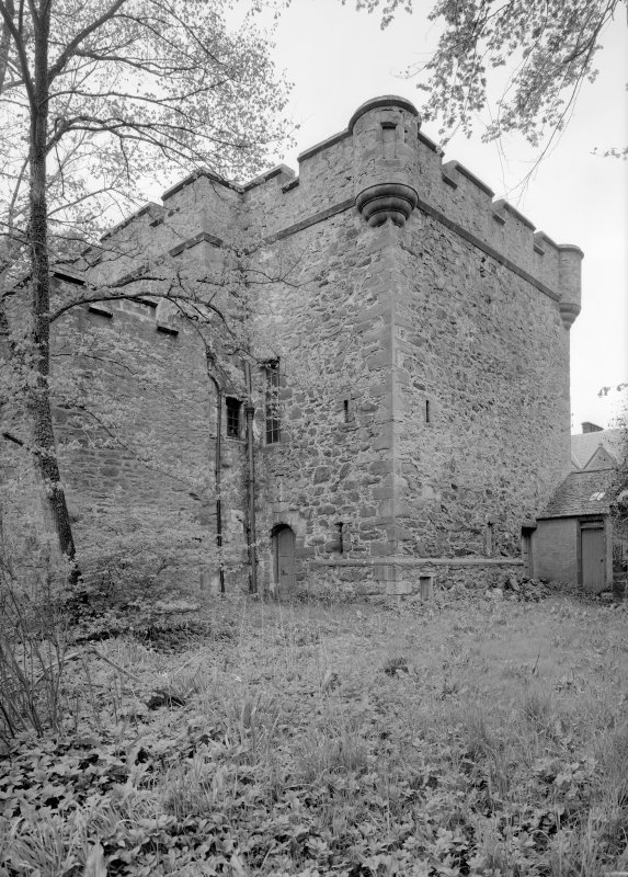 General view of Towie Barclay Castle from NW.