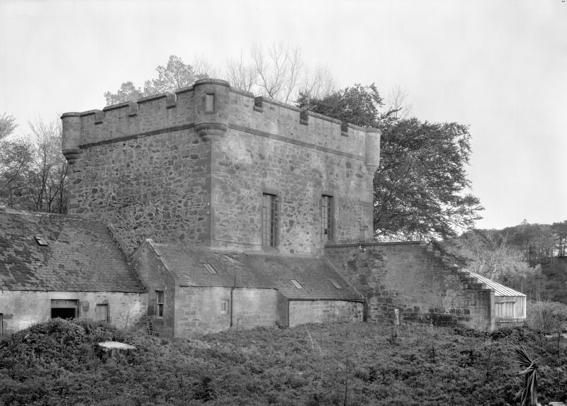 General view of Towie Barclay Castle from SW.