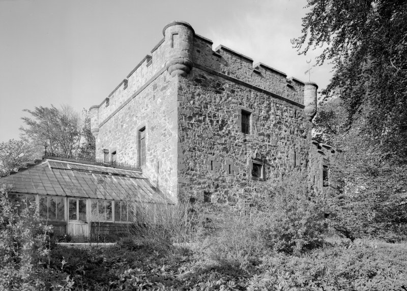 General view of Towie Barclay Castle from SE.