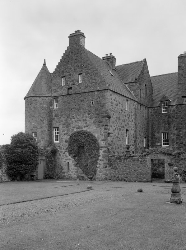 View of Barra Castle from NE.