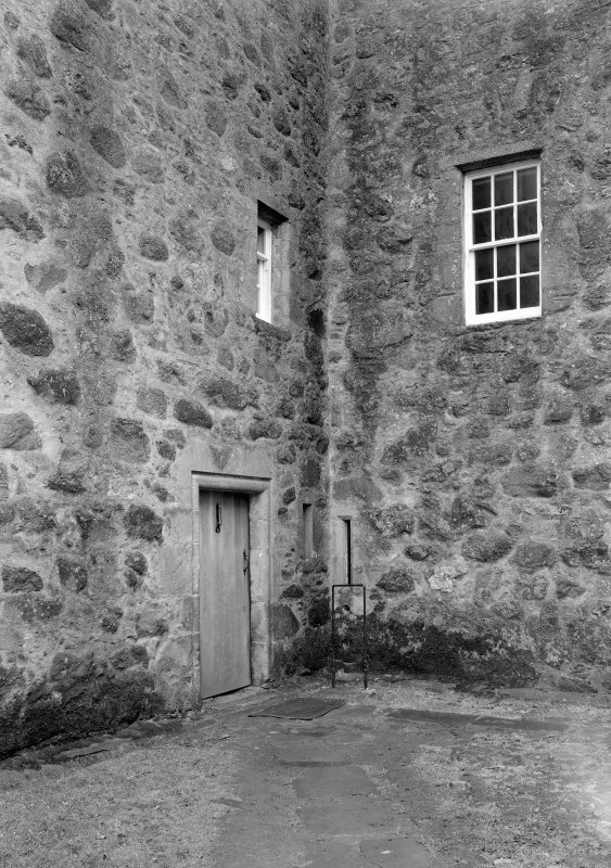 Detail of door, Barra Castle.