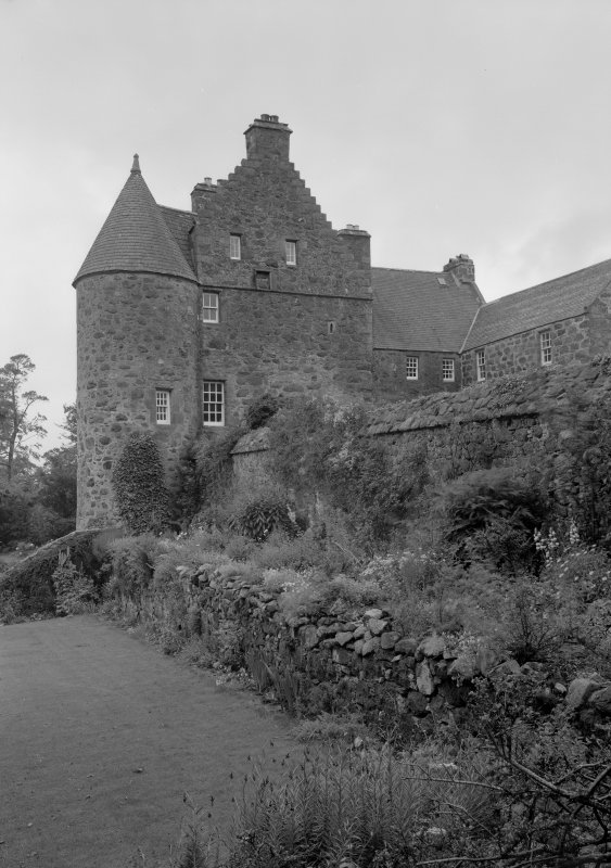 View of Barra Castle from SE.