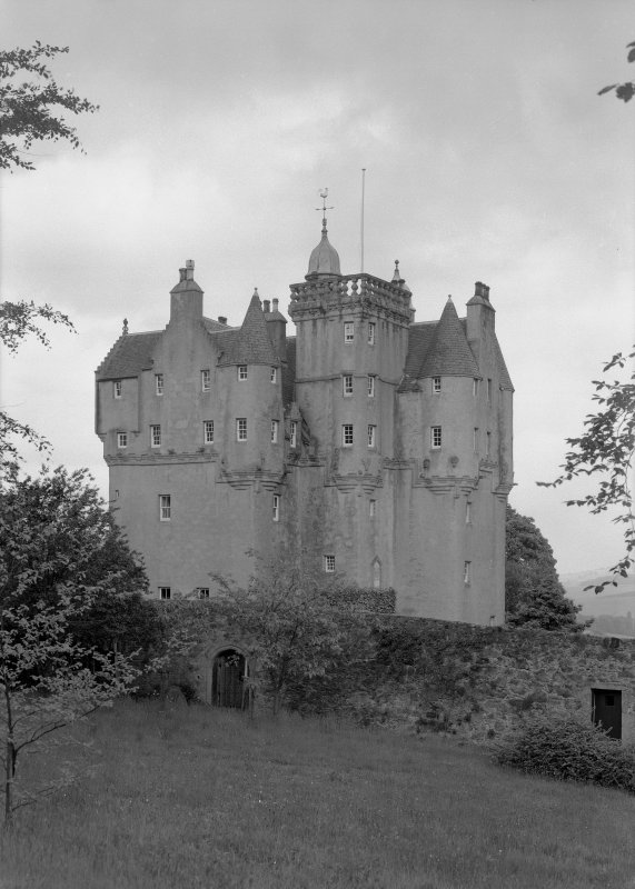 View of Craigievar Castle from W.