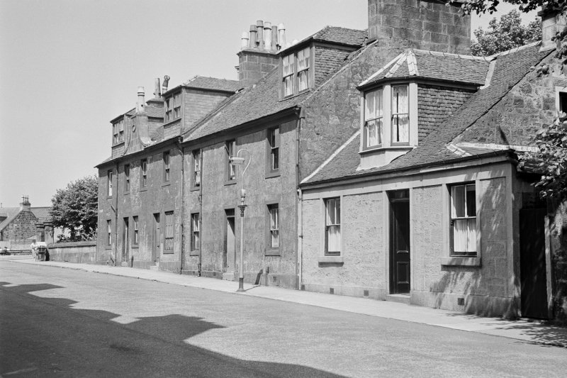 General view of 3, 5 and 7 Campbell Street, Johnstone.