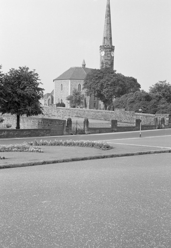 General view of High Parish Church, Johnstone, from N.