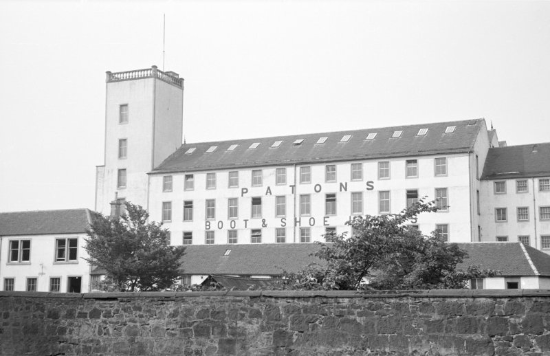 View of Johnstone Mills from NE.