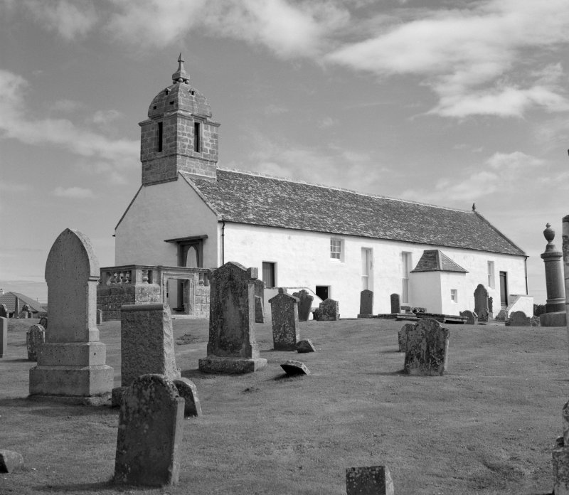 View of Tarbat West Church at Portmahomack.