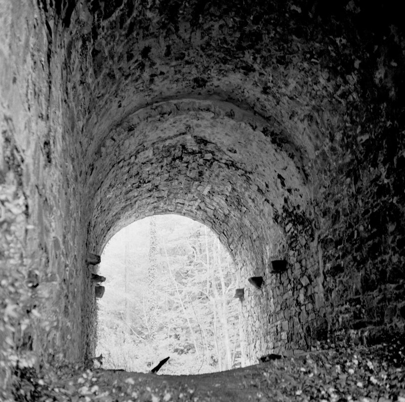 View of the interior of Kirkdale Bridge.