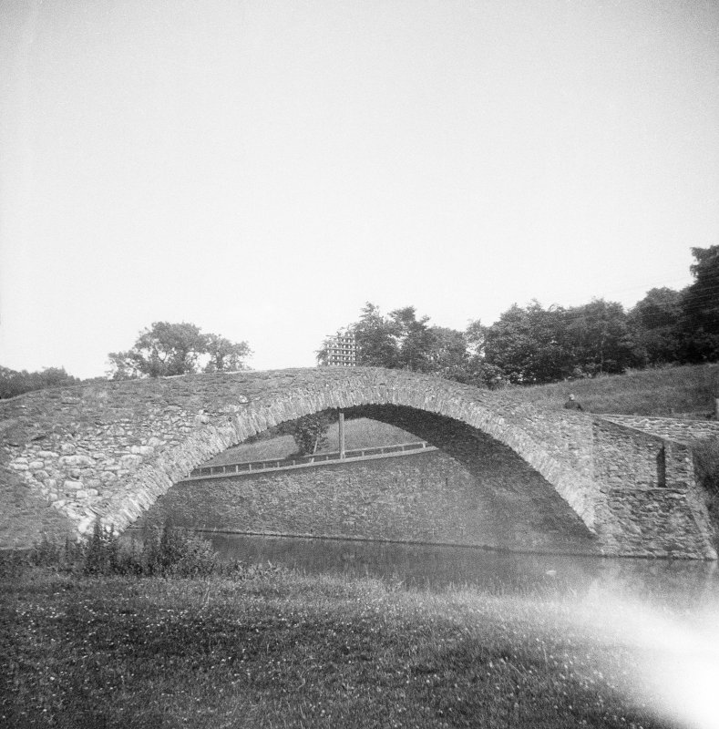 View of Old Stow Bridge from SW.