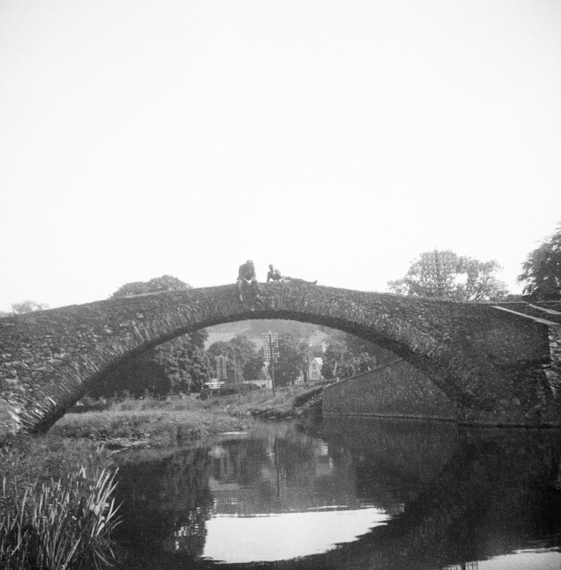 View of Old Stow Bridge from S.