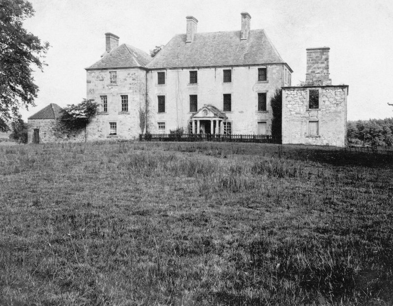Brucefield Photographic view of front before restoration
