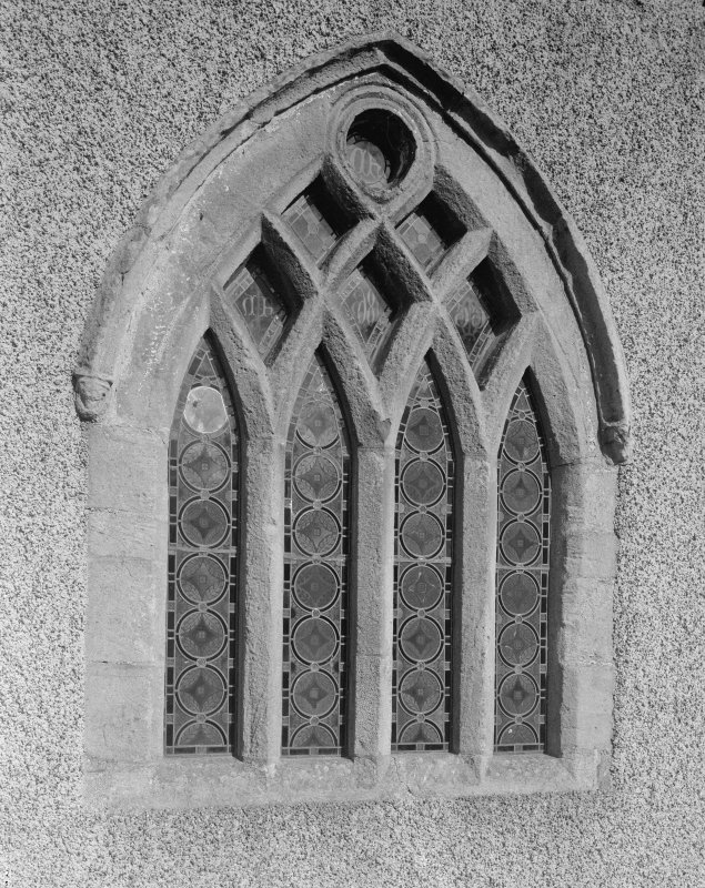 Detail of later window in SE elevation of chancel.