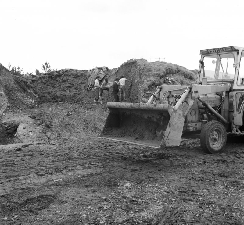 Excavation photograph - work in progress.