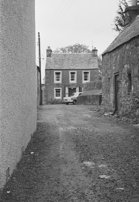 View of house situated off the north side of Drummond Street, Muthill.