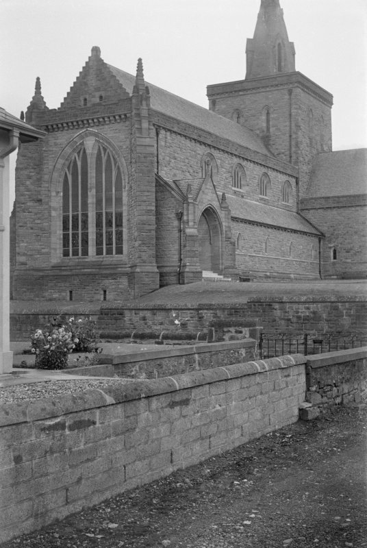 View of Lowson Memorial Church, Forfar, from SW.