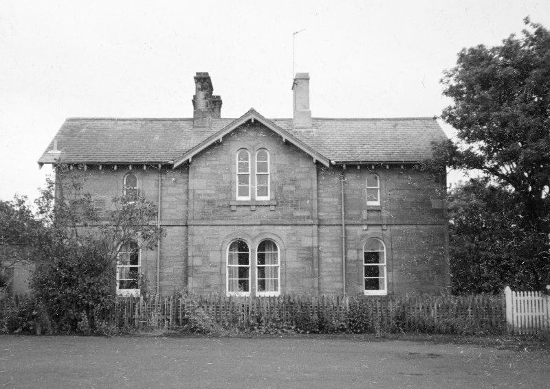 General view of house from NW.
