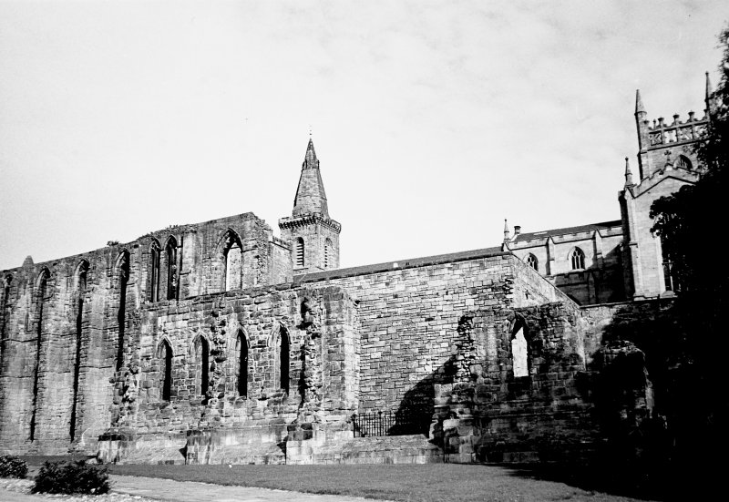 View of Dunfermline Abbey Convectual Buildings