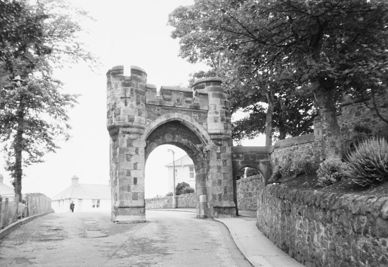 General view of archway