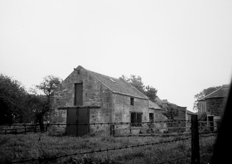 Part view of stable block