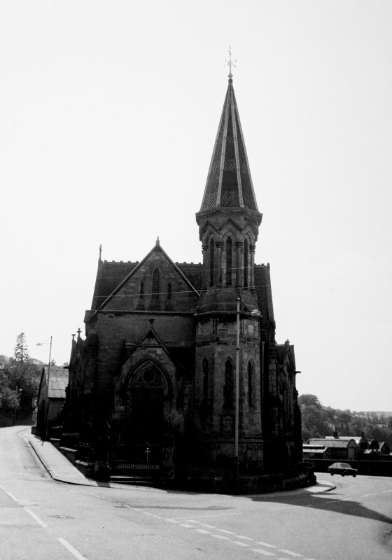 General view of church from the North