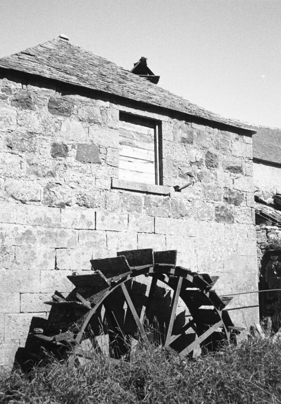 General view showing water-wheel.
