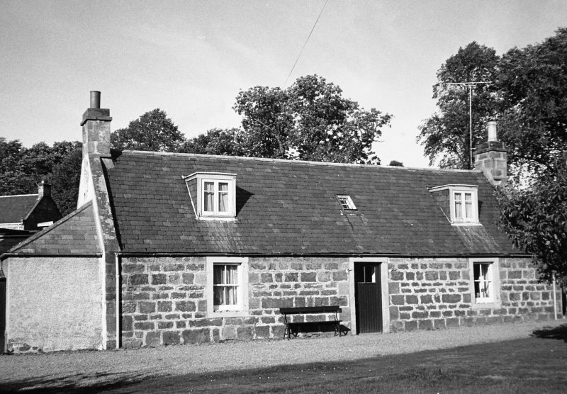 View of cottage.