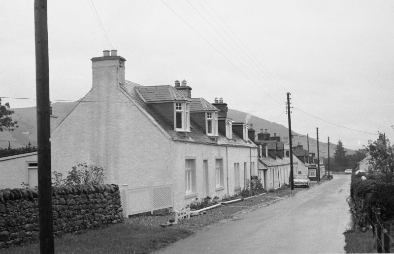 General view of unidentified cottages