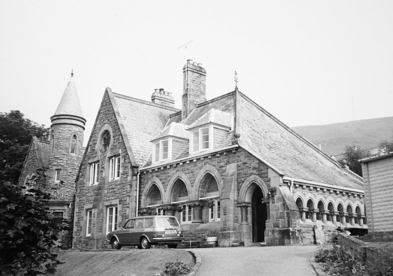 General view of school and rectory