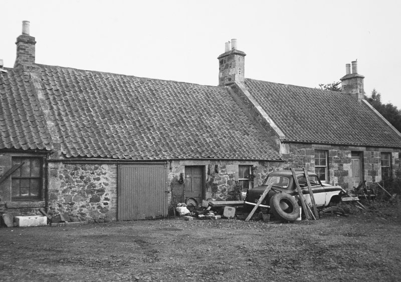 View of mill house.