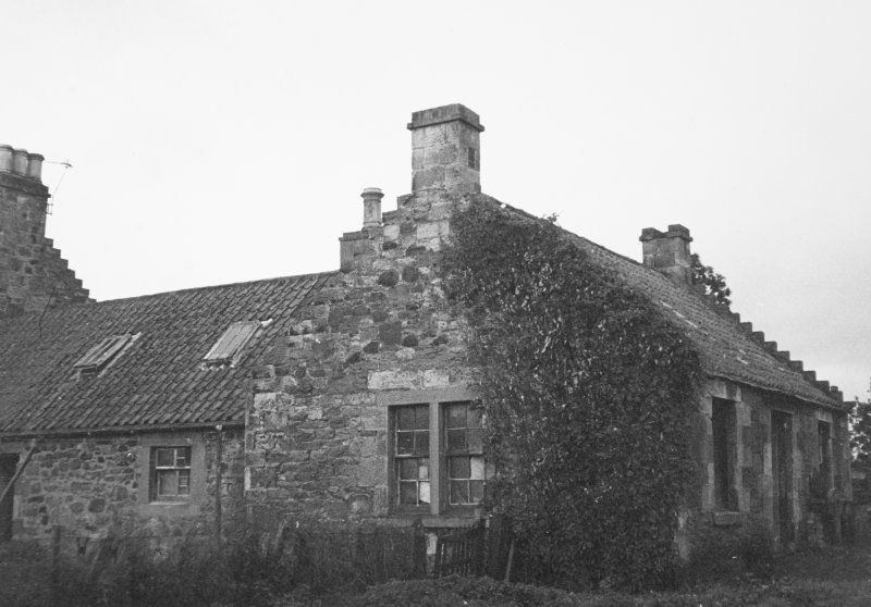 View of mill cottage.