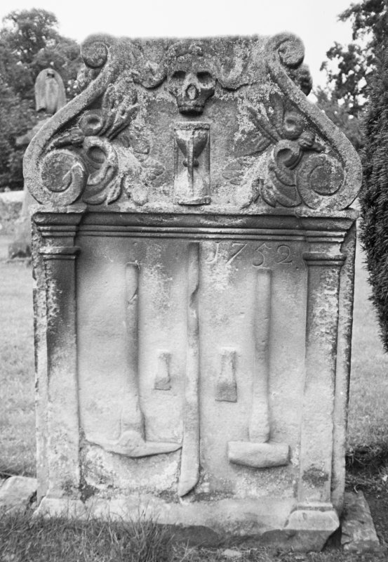Detail of gravestone.