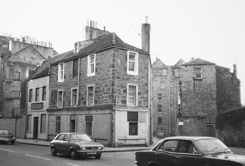 View of No. 76 - 82 Buccleuch Street seen from the North East with Boroughloch Square in the background.